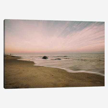 Beach Rays Canvas Print #ALD46} by Aledanda Canvas Art