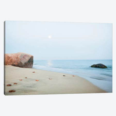 Coastal Rocks Canvas Print #ALD66} by Aledanda Canvas Artwork