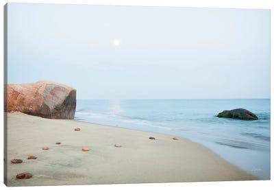 Coastal Rocks Canvas Art Print