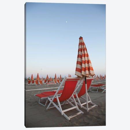 At the Beach IV Canvas Print #ALD73} by Aledanda Canvas Artwork