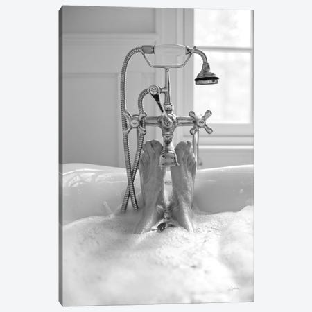 Bubble Bath I Canvas Print #ALD74} by Aledanda Canvas Print