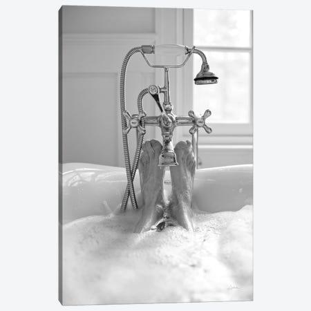Bubble Bath I Canvas Print #ALD74} by Aledanda Canvas Print
