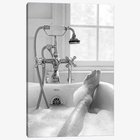 Bubble Bath II 3-Piece Canvas #ALD75} by Aledanda Canvas Print
