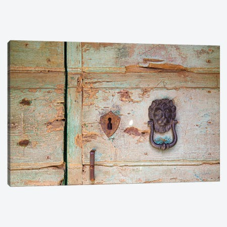 Please Knock Canvas Print #ALD81} by Aledanda Art Print
