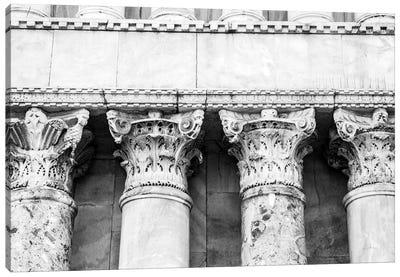 The Pillars Canvas Art Print