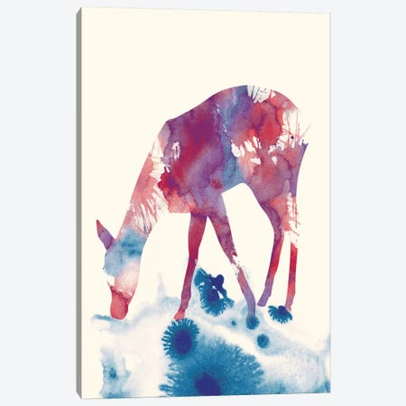 Fawn III Canvas Print #ALE102} by Andreas Lie Canvas Art