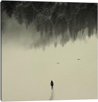 Silent Walk Canvas Art Print