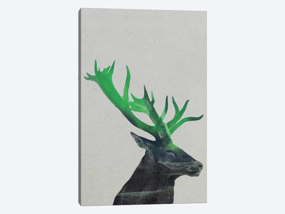 Deer by Andreas Lie 1-piece Canvas Print