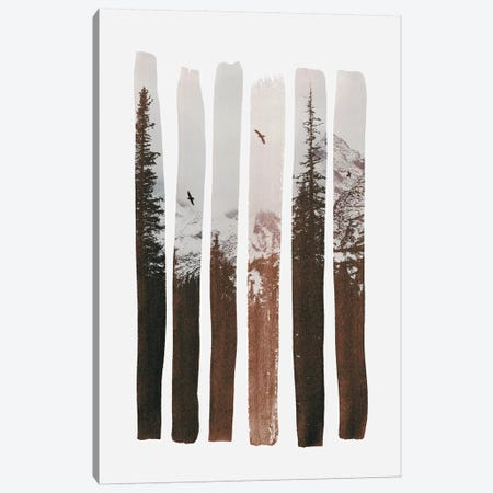 Into The Wild Canvas Print #ALE177} by Andreas Lie Canvas Artwork