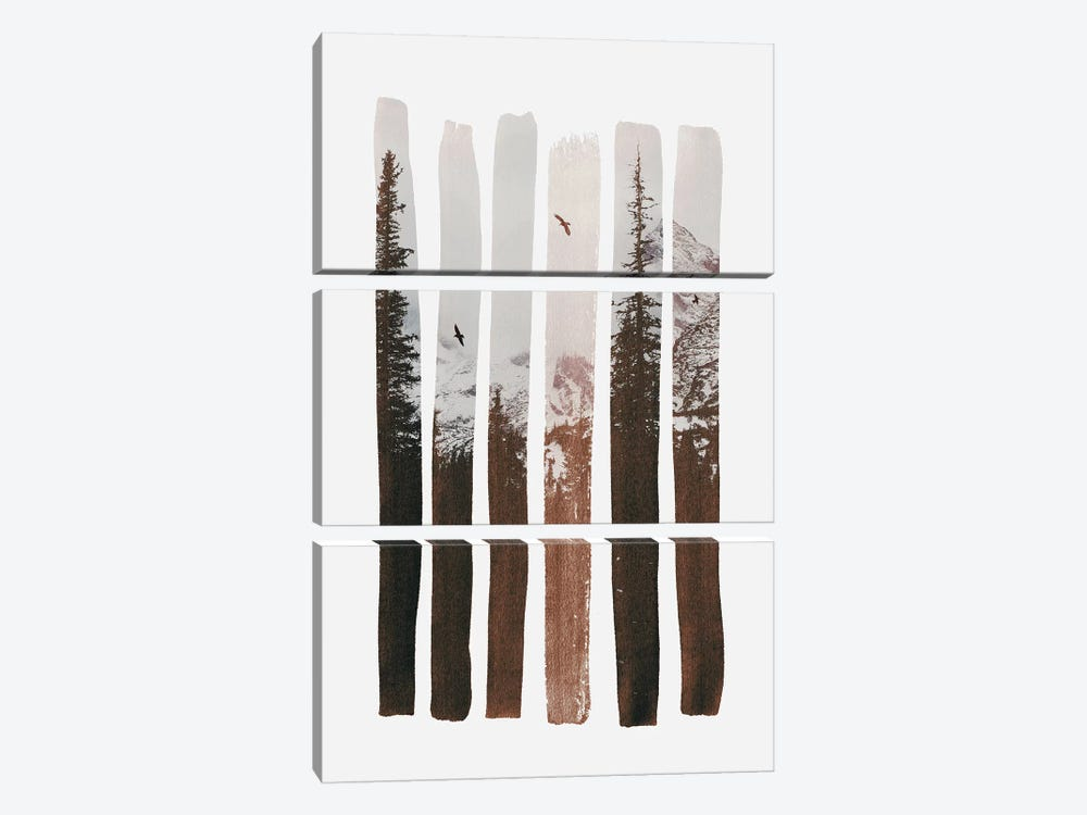 Into The Wild by Andreas Lie 3-piece Art Print
