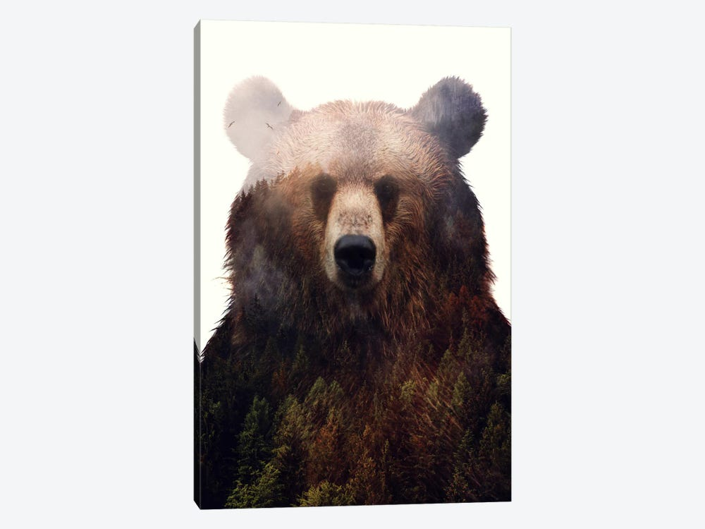King Of The Forest by Andreas Lie 1-piece Art Print