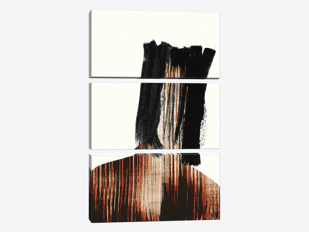 Faceless by Andreas Lie 3-piece Canvas Print