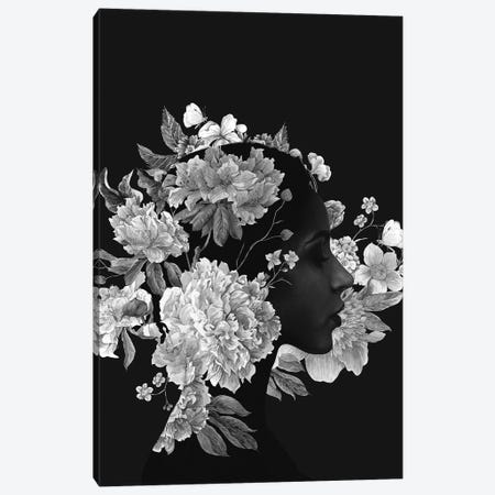 Flora Canvas Print #ALE230} by Andreas Lie Canvas Wall Art