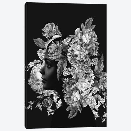 Floral Canvas Print #ALE231} by Andreas Lie Canvas Wall Art