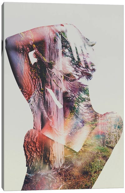 Wilderness Heart I Canvas Print #ALE23