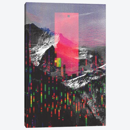 Mountain Glitch II Canvas Print #ALE247} by Andreas Lie Canvas Art
