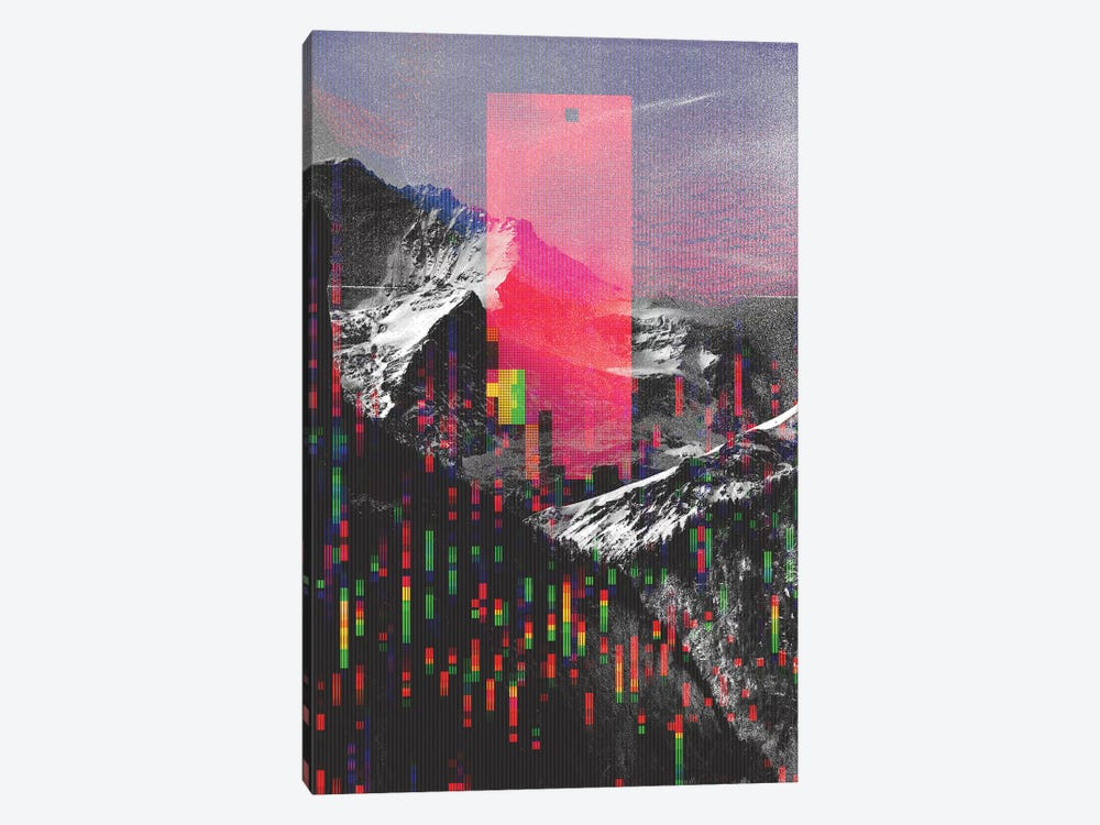 Mountain Glitch II by Andreas Lie 1-piece Canvas Art