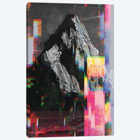 Mountain Glitch III Canvas Print #ALE248} by Andreas Lie Canvas Print