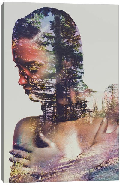 Wilderness Heart II Canvas Art Print