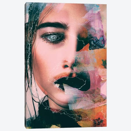 Abstract Woman I Canvas Print #ALE277} by Andreas Lie Art Print