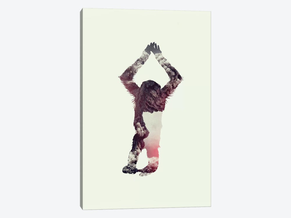 Ape by Andreas Lie 1-piece Canvas Artwork