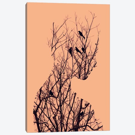 Birds Canvas Print #ALE36} by Andreas Lie Canvas Art