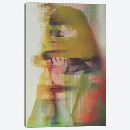Glitch Canvas Print #ALE50} by Andreas Lie Canvas Print