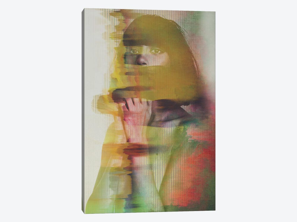 Glitch by Andreas Lie 1-piece Canvas Artwork
