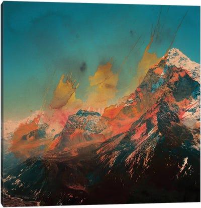 Mountain Splash Canvas Art Print