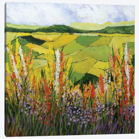 How Green is my Valley 3-Piece Canvas #ALF11} by Allan Friedlander Canvas Artwork