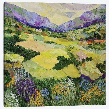 Cool Grass Canvas Print #ALF25} by Allan Friedlander Canvas Artwork