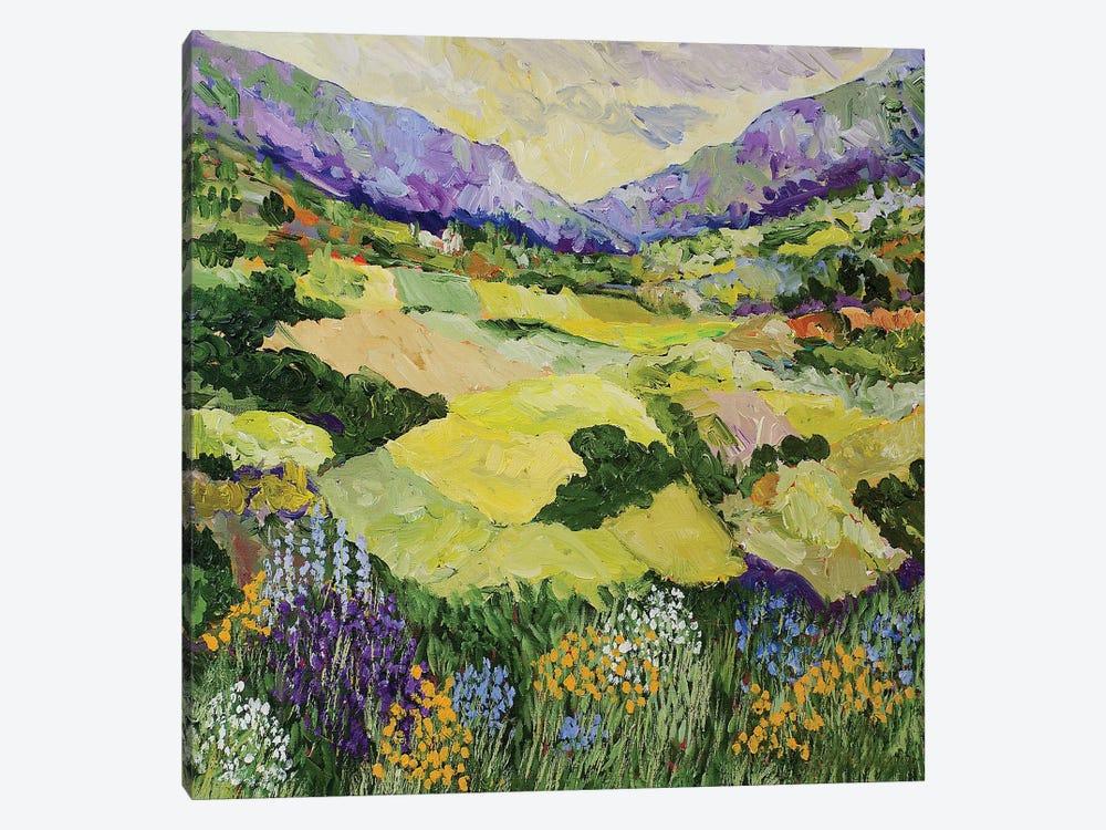 Cool Grass by Allan Friedlander 1-piece Canvas Artwork
