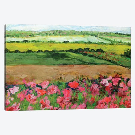 Ginger Green 3-Piece Canvas #ALF32} by Allan Friedlander Canvas Artwork
