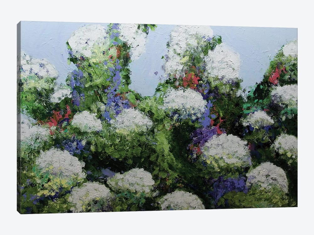 Mum's Garden by Allan Friedlander 1-piece Canvas Print