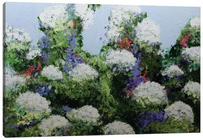 Mum's Garden Canvas Art Print