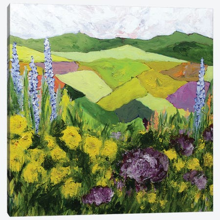 A Good Country Canvas Print #ALF7} by Allan Friedlander Canvas Art Print