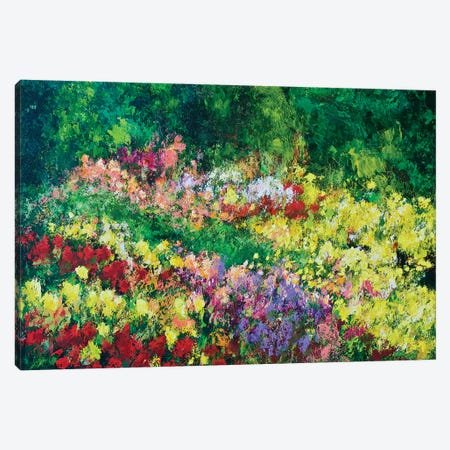 Forest Garden Canvas Print #ALF8} by Allan Friedlander Canvas Wall Art