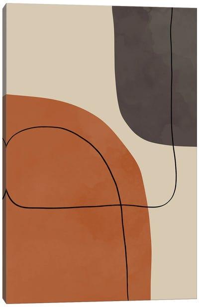 Modern Abstract Shapes #1 Canvas Art Print