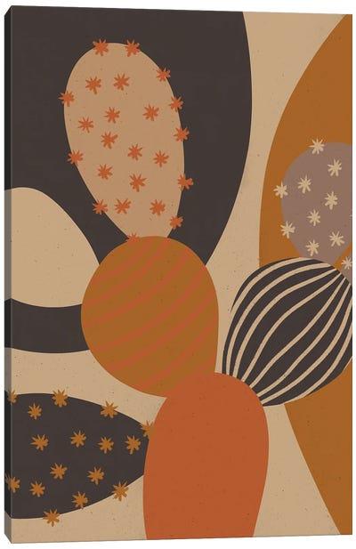 Flowering Cactus III Canvas Art Print
