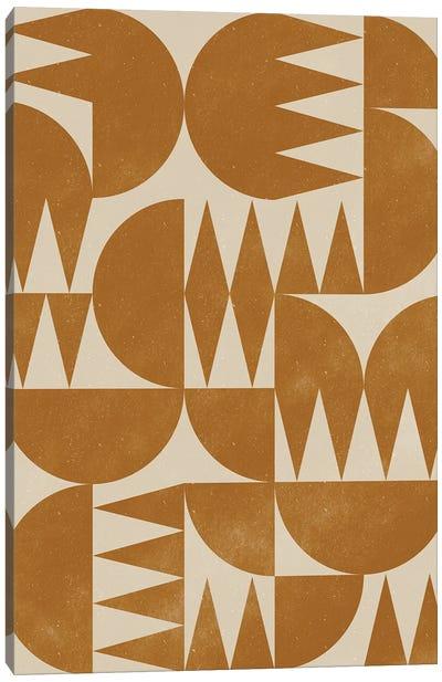 Woodblock Pattern III Canvas Art Print