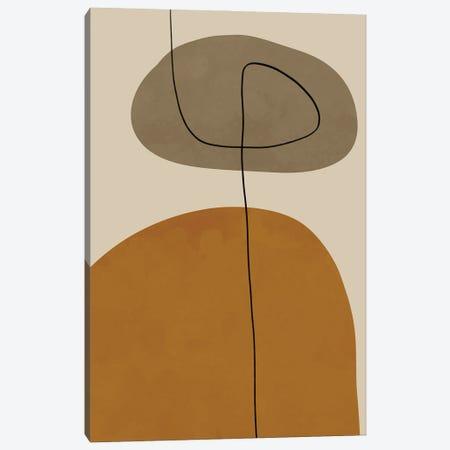 Organic Abstract Shapes II Canvas Print #ALG127} by Alisa Galitsyna Canvas Wall Art