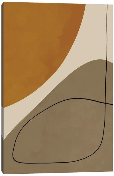 Organic Abstract Shapes III Canvas Art Print