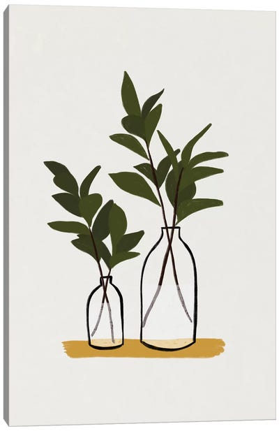 Branches & Bottles Canvas Art Print