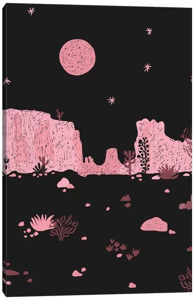 A Night In The Desert II Canvas Art Print