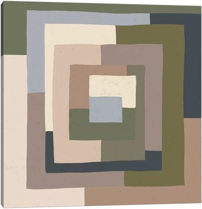 Abstract Neutrals I Canvas Art Print