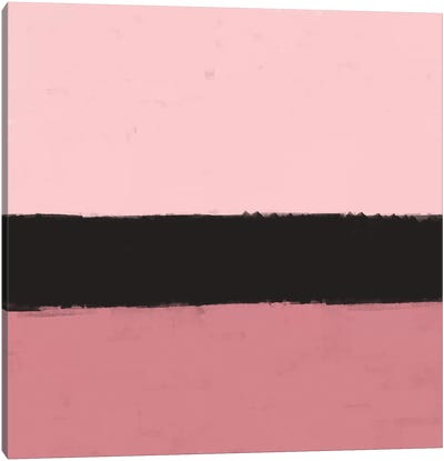 Pink Abstract Canvas Art Print