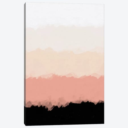 Abstract Rose Color Flora Blush Canvas Print #ALG6} by Alisa Galitsyna Canvas Artwork
