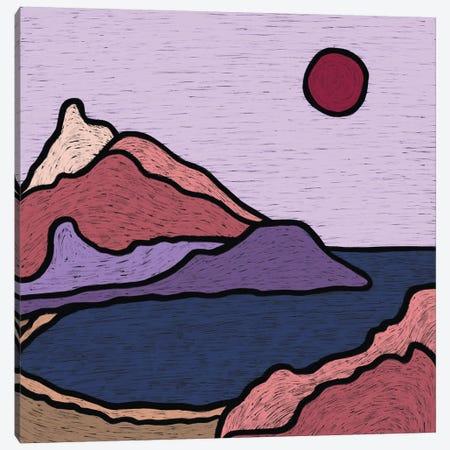 Seascape Canvas Print #ALG71} by Alisa Galitsyna Art Print