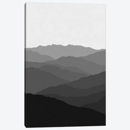 Shades Of Grey Mountains Canvas Print #ALG73} by Alisa Galitsyna Canvas Art Print