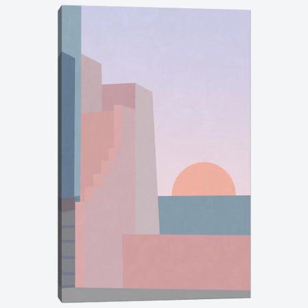 Spanish Sunset Canvas Print #ALG77} by Alisa Galitsyna Canvas Artwork